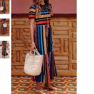Bohemian Mulitcolored Dress